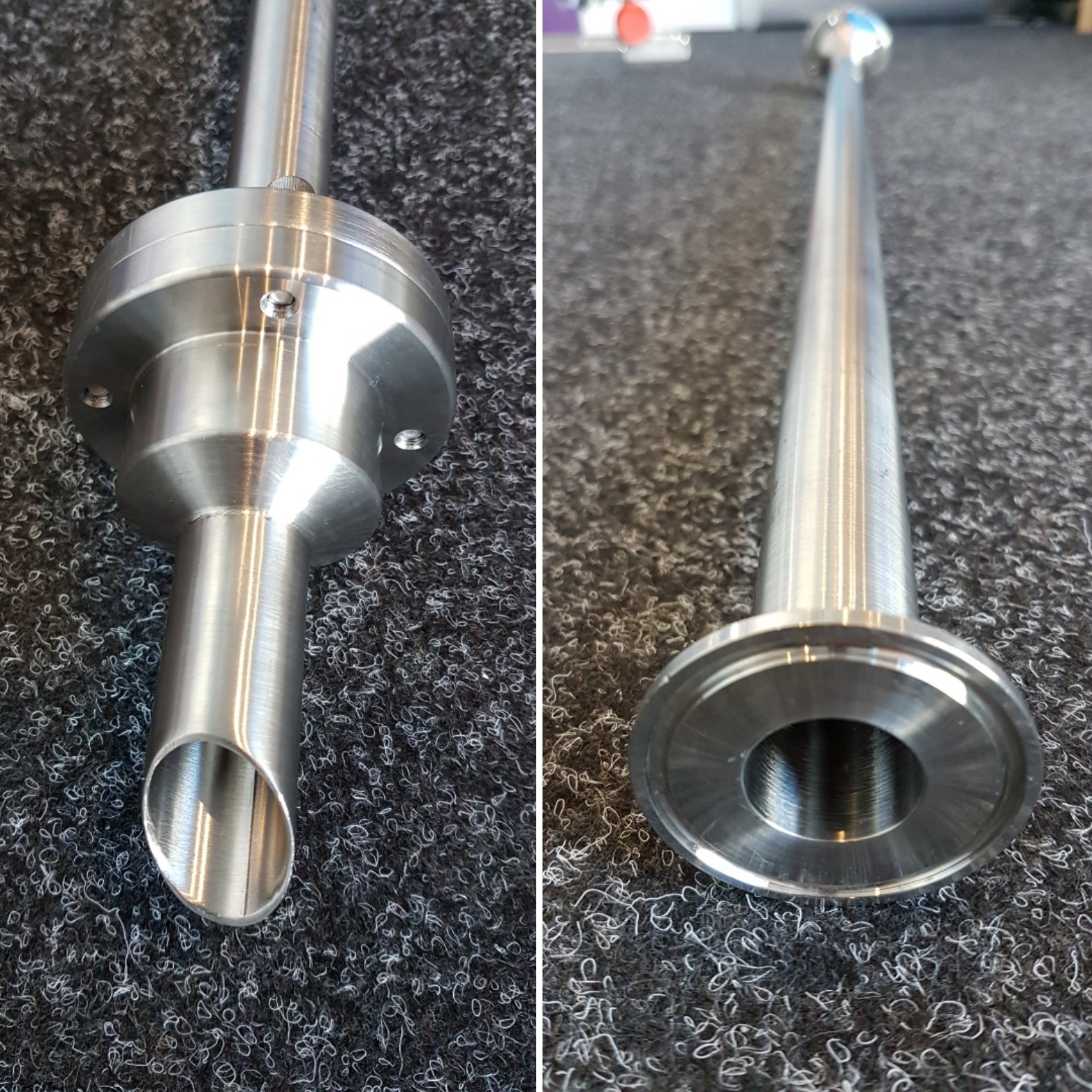 Stainless Steel Suction Lance With Nrv Best Metal